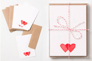 Little Hearts Note cards