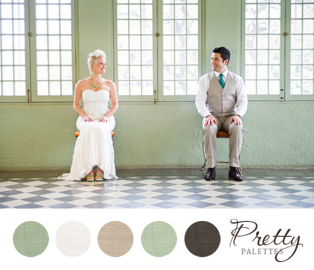 Mint Green Wedding Colors