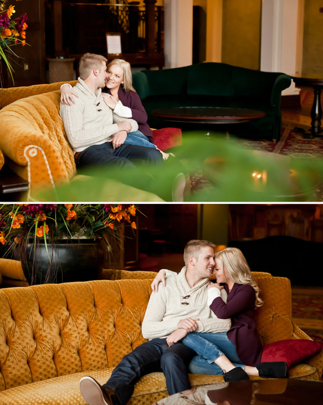 Raelyn & Davie - Winter Engagement