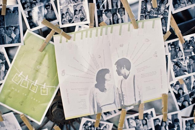 Wedding Photo Display