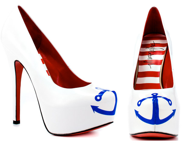 Nautical Wedding Shoes