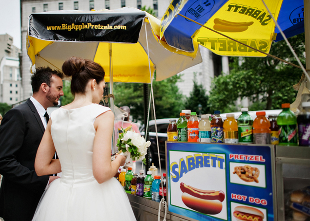 Wedding Food Stand