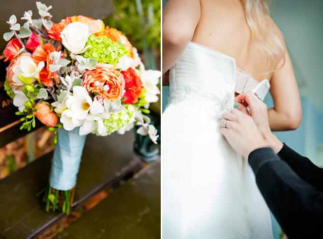 Bright Wedding Bouquet