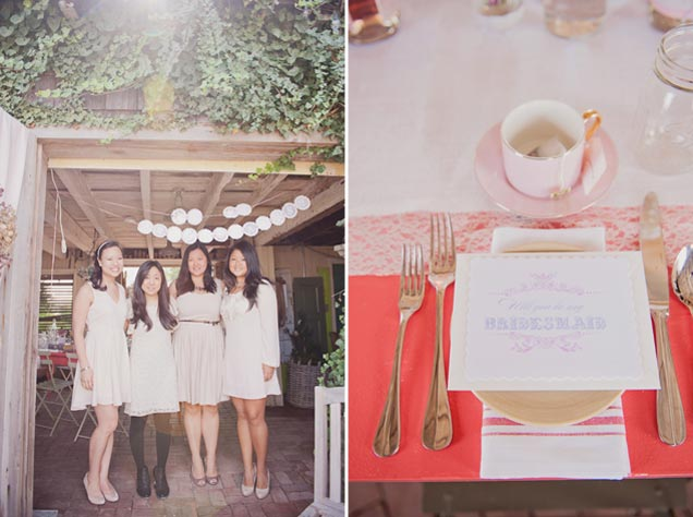 pink bridal shower inspiration