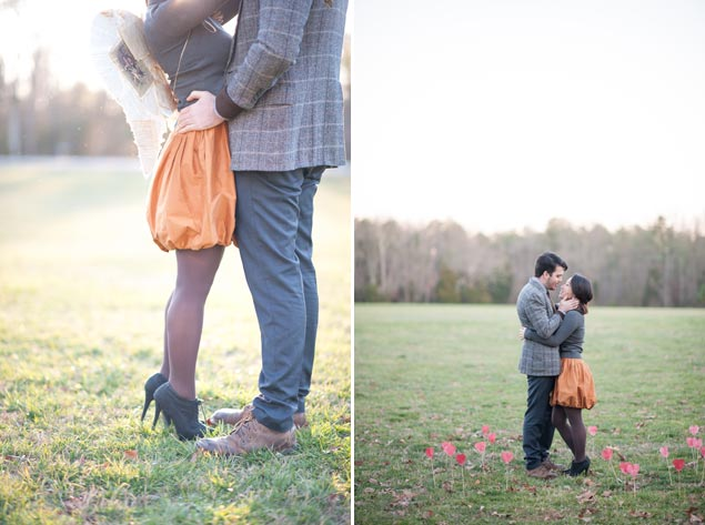 Cupid Engagement Shoot