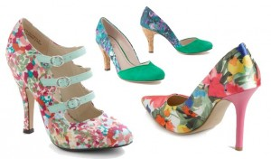 Floral Heels