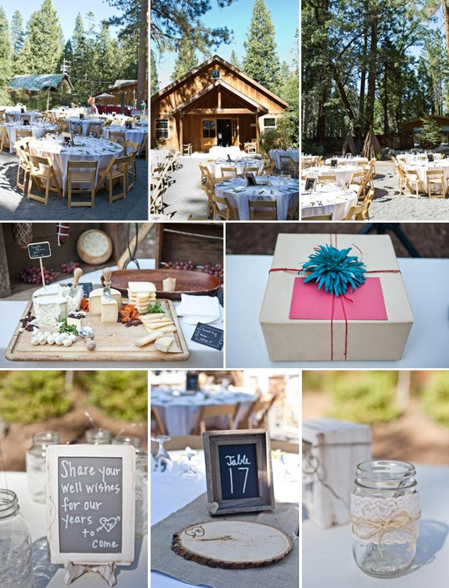 Rustic Woods Wedding