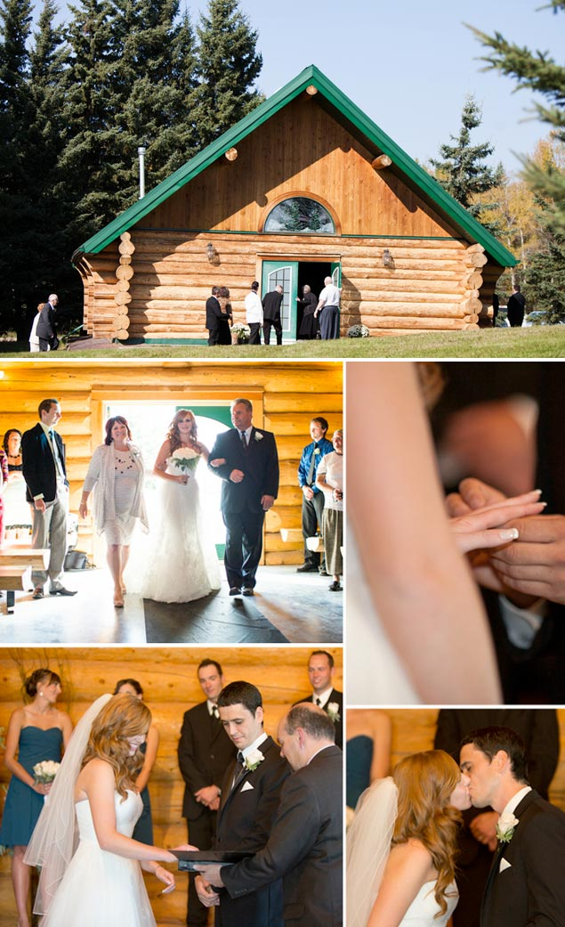 Cabin Wedding Ceremony