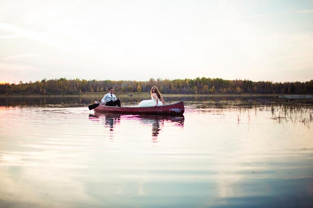 Boat Wedding Photos
