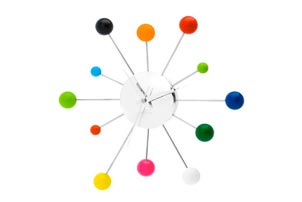 Multi Colored Clock