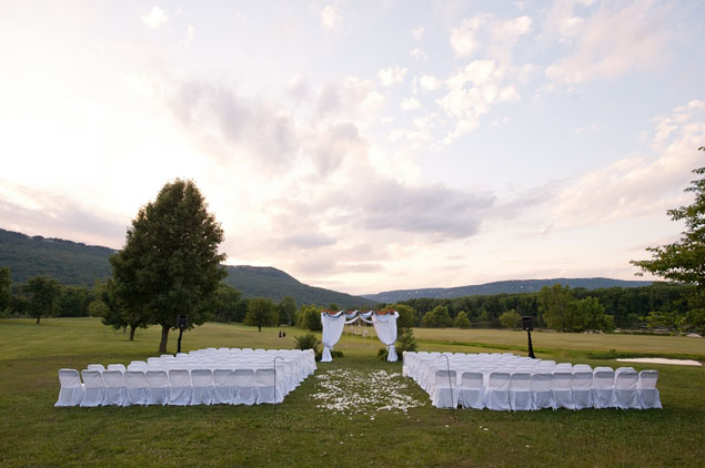 Elegant Outdoor Wedding