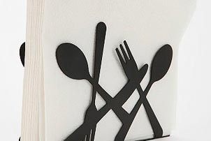 Utensils Napkin Holder