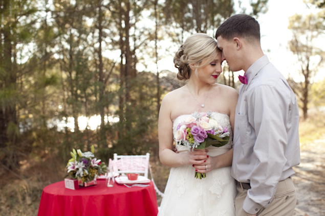 Red and Pink Wedding Inspiration