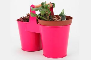 Double Bucket Planter