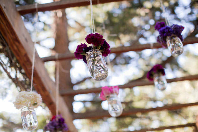 Hanging Wedding Flowers