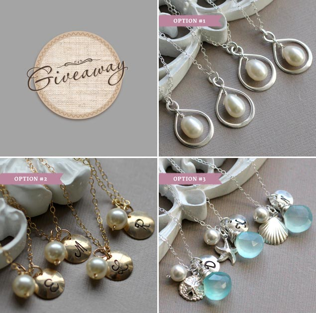 Bridesmaid Necklace Giveaway