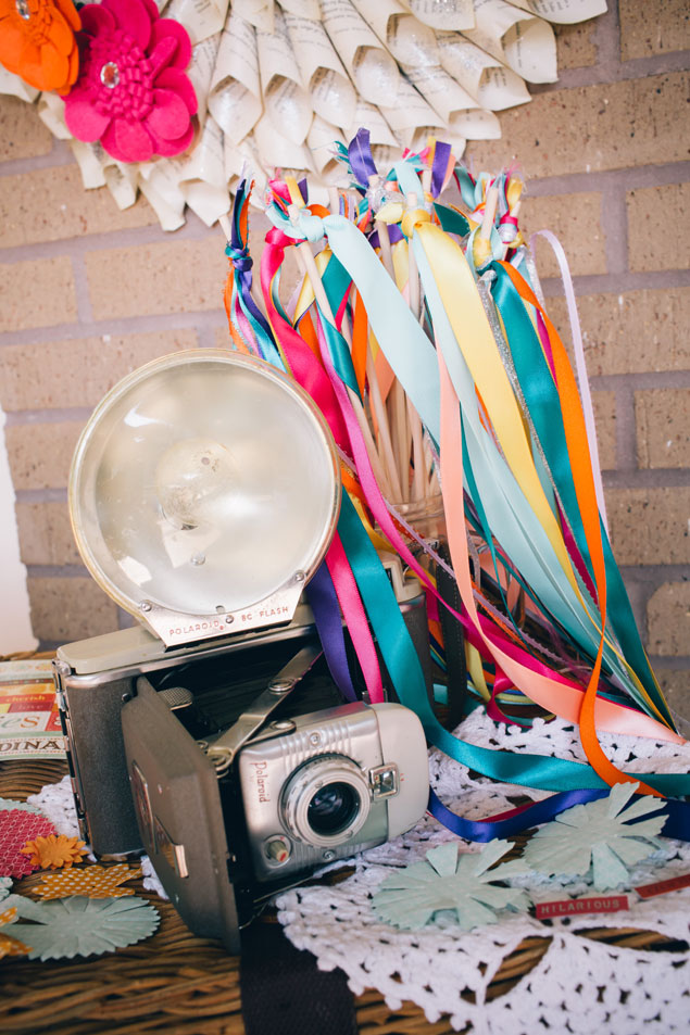 DIY Wedding Photo Booth