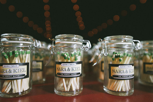 Matches Wedding Favors