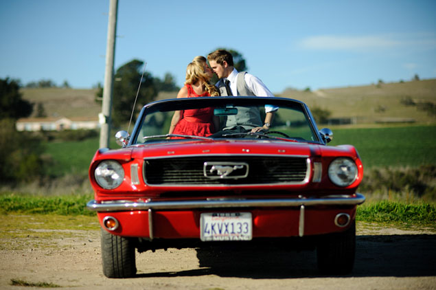 Mustang Engagement Pictures