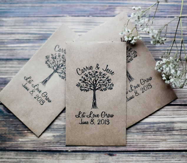 wedding favors giveaway from cloud boutique