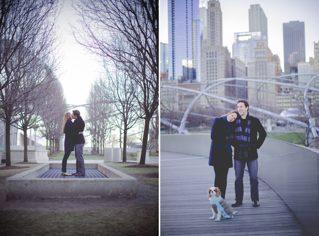 City Engagement Photos