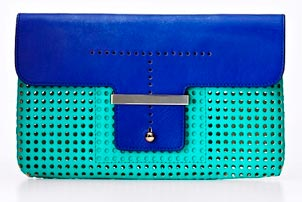 Colorblock Clutch