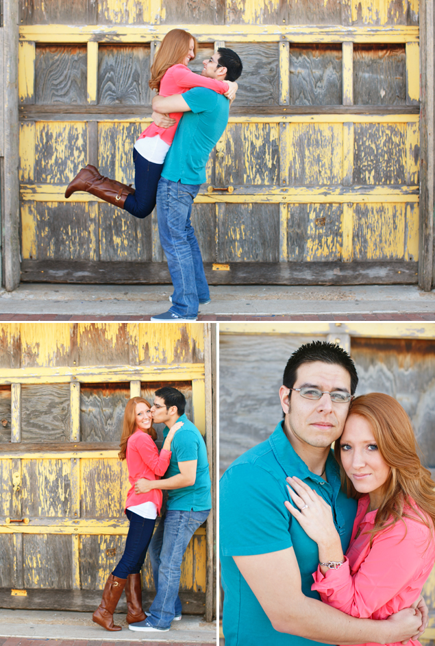 Colorful Engagement Photos