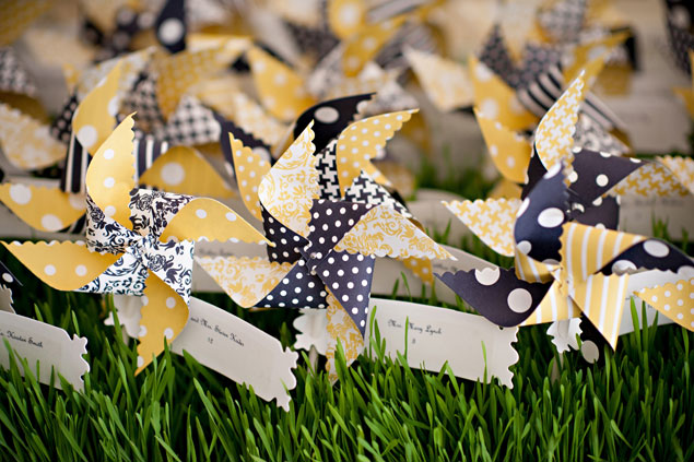 Pinwheel Wedding Details