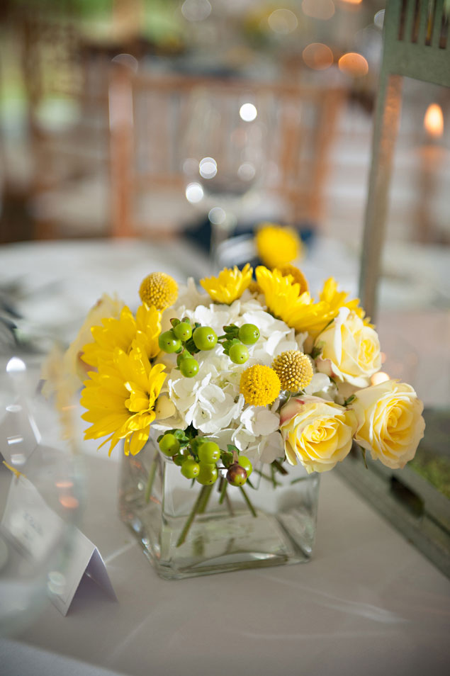 Yellow Floral Centerpiece