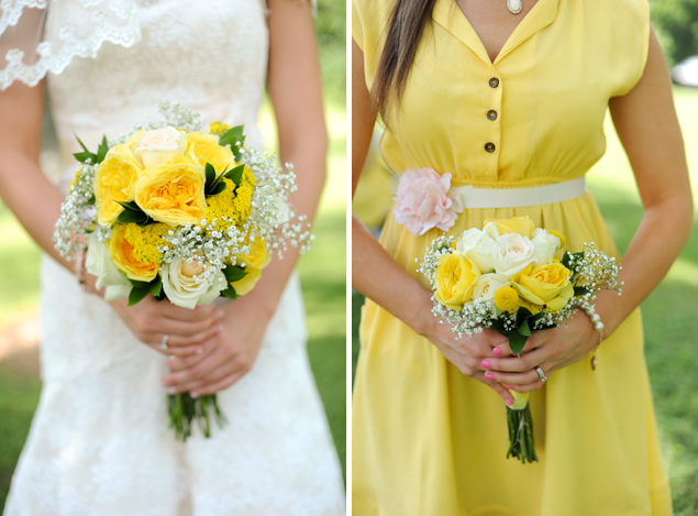 Bride & Bridesmaid Bouquets
