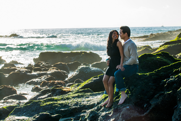 Engagement Shoot on the Coast