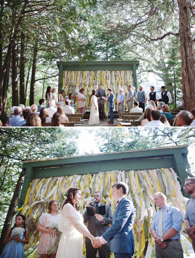Fun Wedding Backdrops