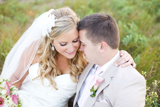 Bride and Groom Before Ceremony