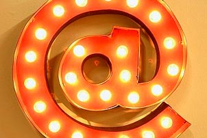 At Symbol Marquee Light