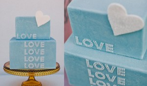 Blue Wedding Cake Inspiration