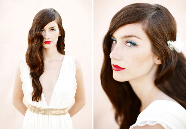 Beauty Inspiration Bold Red Wedding Lips