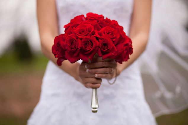 Traditional Red Rose Bouquet