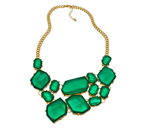 Emerald Statement Necklaces