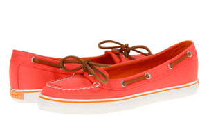 Coral Boat Shoes