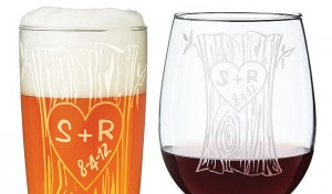Personalized Glassware Set