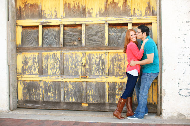 Colorful Engagement Shoot