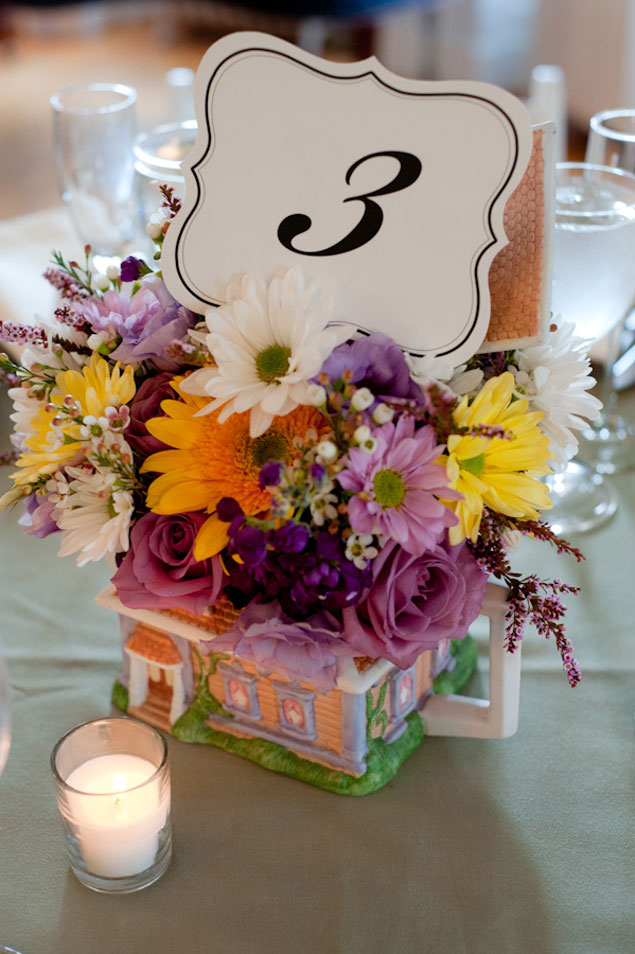 Wedding Centerpieces& Table Numbers