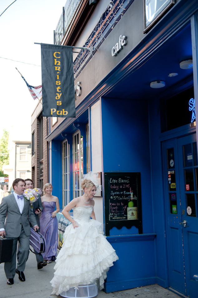 Pub Wedding Photos