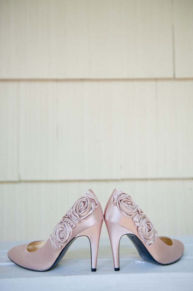 Bridal Heels in Soft Pink