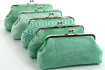 Mint Bridesmaid Clutches