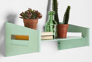 Minty Wall Shelf