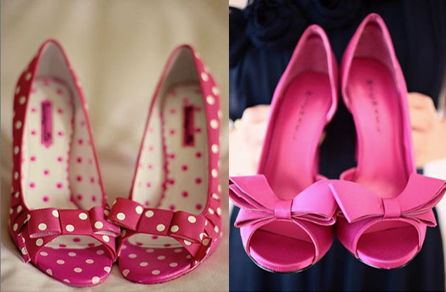 Inspiration: Pink Wedding Shoes