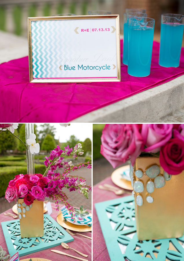 Styled Shoot: Pink and Teal Wedding