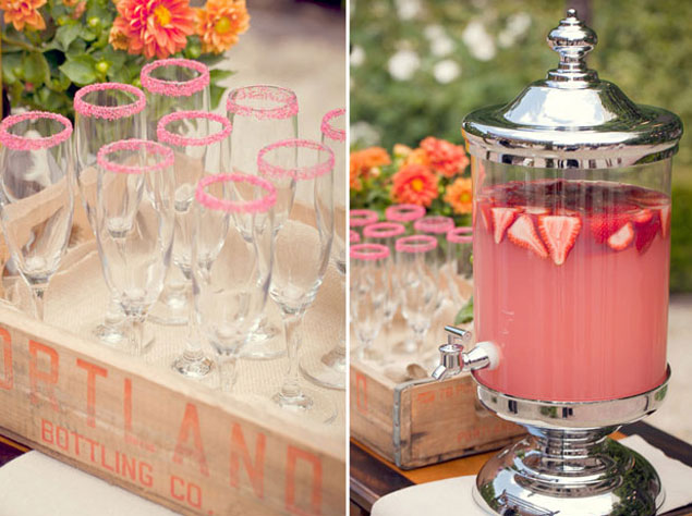 Wedding Pink Lemonade Stand