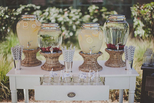 Cocktail bar wedding